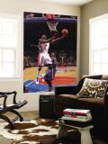 Atlanta Hawks v Detroit Pistons: Ben Wallace Wall Mural by Allen Einstein