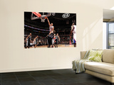 San Antonio Spurs v Los Angeles Clippers: Blake Griffin and Tiago Splitter Wall Mural by Noah Graham