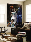 Tulsa 66ers v Sioux Falls Skyforce: Jonny Flynn and Larry Owens Wall Mural by Dave Eggen