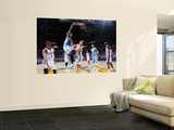 Denver Nuggets v Oklahoma City Thunder - Game One, Oklahoma City, OK - April 17: Nene Hilario and N Wall Mural by Unknown Unknown