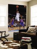 New York Knicks v Denver Nuggets: Chauncey Billups and Toney Gouglas Wall Mural by Garrett Ellwood