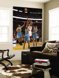 New Orleans Hornets v Miami Heat: LeBron James, Quincy Pondexter, Willie Green and David West Wall Mural by Mike Ehrmann