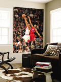 Los Angeles Clippers v Chicago Bulls: Keith Bogans and Eric Gordon Wall Mural by Randy Belice