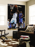 Dallas Mavericks v New Orleans Hornets: Brendan Haywood and Emeka Okafor Wall Mural by Chris Graythen