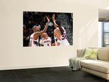 New Jersey Nets v Atlanta Hawks: Jamal Crawford and Etan Thomas Wall Mural by Kevin Cox