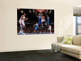 Orlando Magic v Los Angeles Clippers: Baron Davis, DeAndre Jordan, Dwight Howard and Brandon Bass Wall Mural by Noah Graham