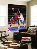 Cleveland Cavaliers  v Philadelphia 76ers: Mo Williams and Elton Brand Wall Mural by David Dow