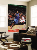 Orlando Magic v Chicago Bulls: Vince Carter and Keith Bogans Wall Mural by Gary Dineen