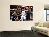 San Antonio Spurs v Los Angeles Clippers: Eric Gordon, Tim Duncan, Matt Bonner and George Hill Wall Mural by Harry How
