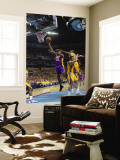 Los Angeles Lakers v New Orleans Hornets, New Orleans, LA - APRIL 22: Ron Artest and Carl Landry Wall Mural by Layne Murdoch