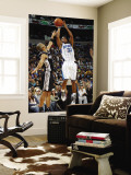San Antonio Spurs v New Orleans Hornets: Willie Green and Tony Parker Wall Mural by Layne Murdoch