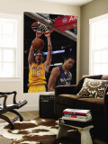 Washington Wizards v Los Angeles Lakers: Pau Gasol and Javale McGee Wall Mural by  Jeff