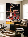 Chicago Bulls v Miami Heat - Game FourMiami, FL - MAY 24: Mike Miller and Carlos Boozer Wall Mural by Mike Ehrmann