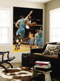 New Orleans Hornets v Miami Heat: Dwyane Wade and Jason Smith Wall Mural by  Issac