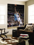 New Orleans Hornets v Dallas Mavericks: Emeka Okafor and Tyson Chandler Wall Mural by Glenn James
