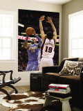 Denver Nuggets v Phoenix Suns: Carmelo Anthony and Hedo Turkoglu Wall Mural by Christian Petersen