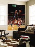 Orlando Magic v Miami Heat, Miami, FL - March 3: Dwight Howard Wall Mural by Victor Baldizon