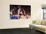 Los Angeles Lakers v Los Angeles Clippers: Kobe Bryant and Eric Gordon Wall Mural by Noah Graham