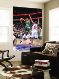 Boston Celtics v Philadelphia 76ers: Rajon Rondo and Thaddeus Young Wall Mural by David Dow