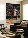 Los Angeles Lakers v Detroit Pistons: Kobe Bryant and Richard Hamilton Wall Mural by Allen Einstein
