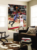Oklahoma City Thunder v Houston Rockets: Kyle Lowry and Kevin Durant Wall Mural by Bill Baptist