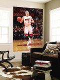 Orlando Magic v Miami Heat, Miami, FL - March 3: Mike Bibby Wall Mural by Victor Baldizon