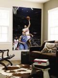 Washington Wizards v Detroit Pistons: Tayshaun Prince and JaVale McGee Wall Mural by Allen Einstein