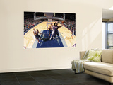 Atlanta Hawks v New Jersey Nets: Josh Smith and Troy Murphy Wall Mural by David Dow
