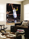 San Antonio Spurs v Denver Nuggets: Carmelo Anthony and Tim Duncan Wall Mural by Garrett Ellwood