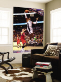 Philadelphia 76ers v Orlando Magic: Dwight Howard Wall Mural by Sam Greenwood