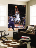 Memphis Grizzlies v Denver Nuggets: Aaron Afflalo and Mike Conley Wall Mural by Garrett Ellwood