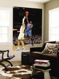 Minnesota Timberwolves v Golden State Warriors: Martell Webster and Vladimir Radmanovic Wall Mural by Rocky Widner