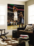 Denver Nuggets v Charlotte Bobcats: Shaun Livingston and Chauncey Billups Wall Mural by Kent Smith