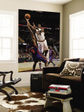 New York Knicks v Cleveland Cavaliers: Antawn Jamison and Shawne Williams Wall Mural by David Liam Kyle