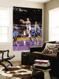 Washington Wizards v Sacramento Kings: Beno Udrih and Kirk Hinrich Wall Mural by Rocky Widner