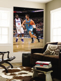 New Orleans Hornets v Philadelphia 76ers: Marco Belinelli and Jrue Holliday Wall Mural by David Dow