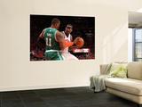Boston Celtics v New York Knicks - Game Four, New York, NY - April 24: Amar'e Stoudemire and Glen D Wall Mural