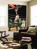 Boston Celtics v Charlotte Bobcats: Paul Pierce and Stephen Jackson Wall Mural by Kent Smith