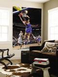 Golden State Warriors v Utah Jazz: C.J. Miles and David Lee Wall Mural by Melissa Majchrzak