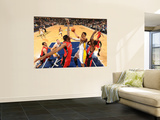 Toronto Raptors v Indiana Pacers: Danny Granger and Ed Davis Wall Mural by Ron Hoskins