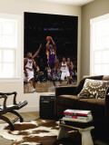 Los Angeles Lakers v Milwaukee Bucks: Kobe Bryant and John Salmons Wall Mural by Gary Dineen