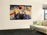 Utah Flash v Bakersfield Jam: Orien Greene Wall Mural by Juan Ocampo