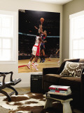 Atlanta Hawks v Toronto Raptors: Al Horford and Joey Dorsey Wall Mural by Ron Turenne