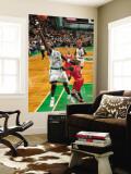 Chicago Bulls v Boston Celtics: Kevin Garnett and Luol Deng Wall Mural by Brian Babineau