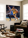 Oklahoma City Thunder v New Orleans Hornets: Marco Belinelli and Kevin Durant Wall Mural by Layne Murdoch
