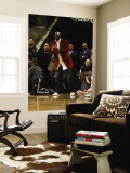 New York Knicks v Charlotte Bobcats: Michael Jordan Wall Mural by Kent Smith