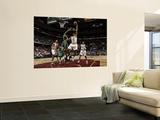 Boston Celtics v Cleveland Cavaliers: Joey Graham and Kevin Garnett Wall Mural by David Liam Kyle