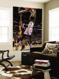 Los Angeles Lakers v Los Angeles Clippers: DeAndre Jordan and Pau Gasol Wall Mural by Stephen Unknown