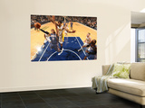 Charlotte Bobcats v Indiana Pacers: D. J. Augustine and Solomon Jones Wall Mural by Ron Hoskins