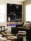 Atlanta Hawks v Detroit Pistons: Josh Smith and Tayshaun Prince Wall Mural by Allen Einstein